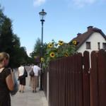 Ulicą Krakowską ruszyliśmy w stronę Albrechtówki.