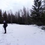 13. ...mijając zaśnieżone polany, aż osiągnęliśmy...
