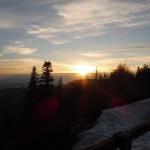 19. ...skąd wieczorem podziwialiśmy zachód słońca.