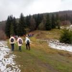 31. Znów czekało nas podejście lasem.