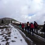 41. Podchodziliśmy w kierunku szczytu Mogielicy...