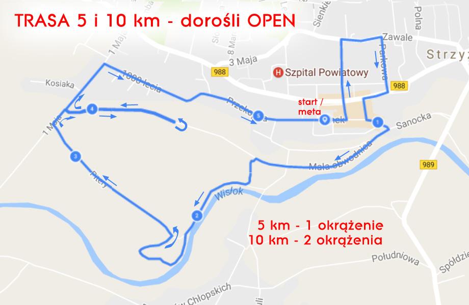 Trasa-5,10km