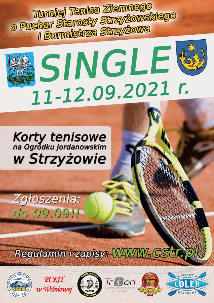 Turniej Tenisa Ziemnego SINGLE 2021